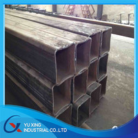 Square Steel Tubes/Pipes/steel square tube sizes 2mm wall thickness