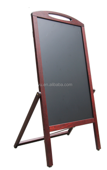 Double sided blackboard with handle
