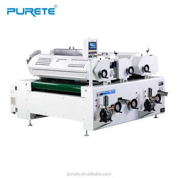 Plywood and MDF UV varnishing machine