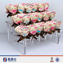 2015 acrylic candy display holder for promotion/acrylic candy display/acrylic stand