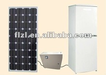 solar fridge 158L dc compressor Manufacturer supply solar powered energy deep Battery powered freezer solar 12V dc chest freezer