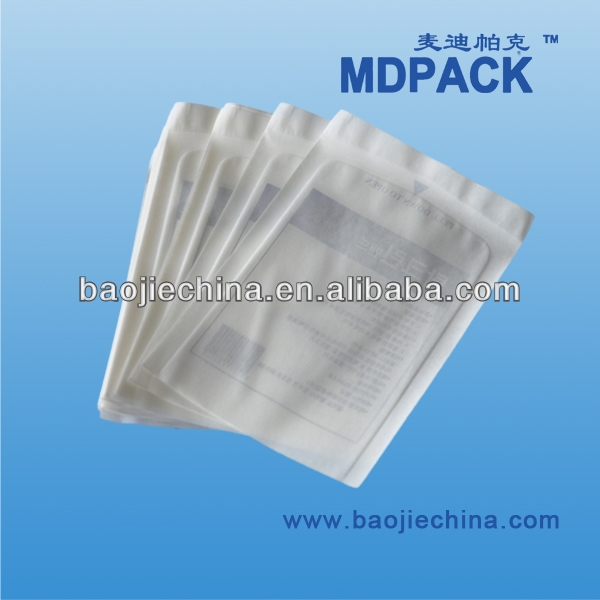Dental material Autoclave sterilization flat pouch for heat seal
