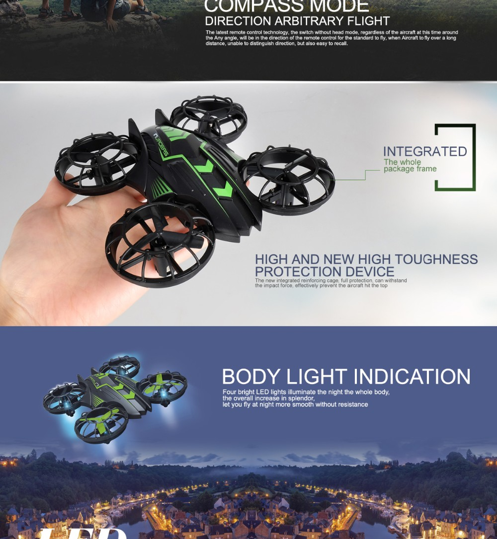 Smartphone WIFI RC Quadcopter Drone With Camera