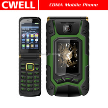 Rover X9 GSM Quad Band Dual SIM 1500mAh Big Battery Big Buttons Flip Style 1.77 inch 3.5 inch Dual Screen Mobile Phone