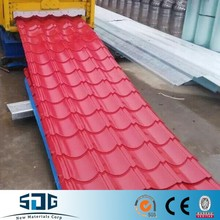 Zinc color coated corrugated roofing sheets 0.20-0.35mm 18-76-914mm Zinc color coated corrugated roofing