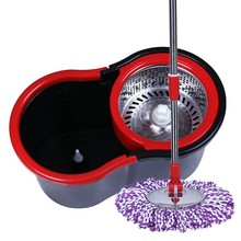 Magic Handle Type and Eco-Friendly Feature Twist Spin Mop And Bucket