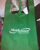 custom cheap non woven T shirt bag free shipping