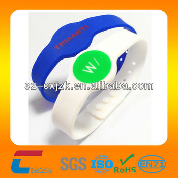 Waterproof Silicone RFID Wristband