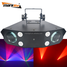 1-Year Warranty CE ROHS led stage dj/disco/party effect light dmx dj club entertainment equipment 2 head moon flower light