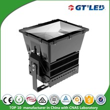 GT'LED supply super high power 1000W stadium lighting Aluminum housing IP65 rated LED outdoor flood light