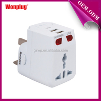 High Quality Coloful & Beautiful Gambia Travel Adapter