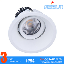 7w Downlight Recessed Led Ceiling Spotlight Dimmable Alluminium Alloy Led Down Light