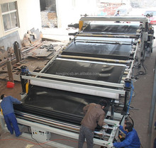 HDPE geogrid sheet extrusion line