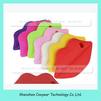 Soft 3D Mouth Sexy Lips Gel Rubber Silicone Cover Case For iPhone 5g 5s