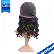 KBL-Perfect Lady short hair lace wig silk top