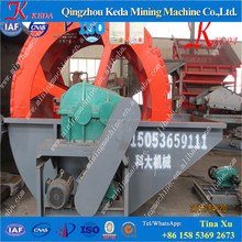 Keda Popular Wheel sand washing machine for Sand recycling