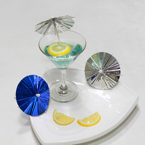 Christmas cocktail picks decorative party umbrella toothpicks