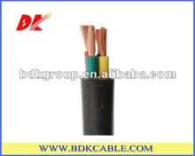 stable and reliable operation PVC insualted wire, NYAF, NYYHY F flexible cable 16mm