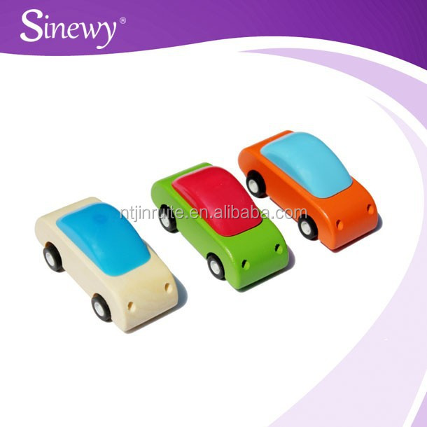 OEM custom hot sale wood cute car toy for kids