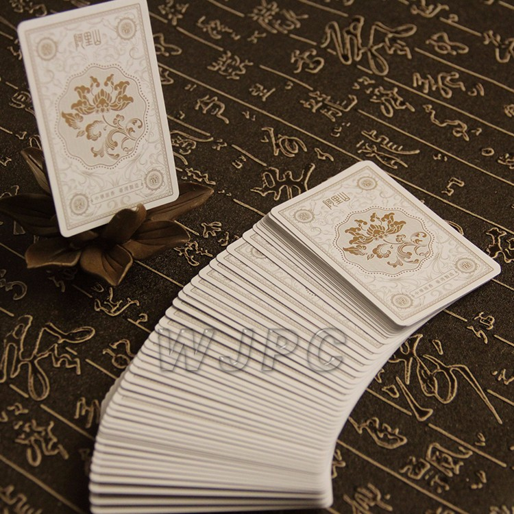 High Quality Personalized Playing Card Poker Card Deck Printer