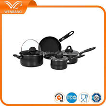 hot selling cooking pot color cookware sets kitchen