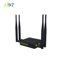 Industrial Wireless 3G/4G SIM Card Load Balance 4 LAN and 1 WAN ports router