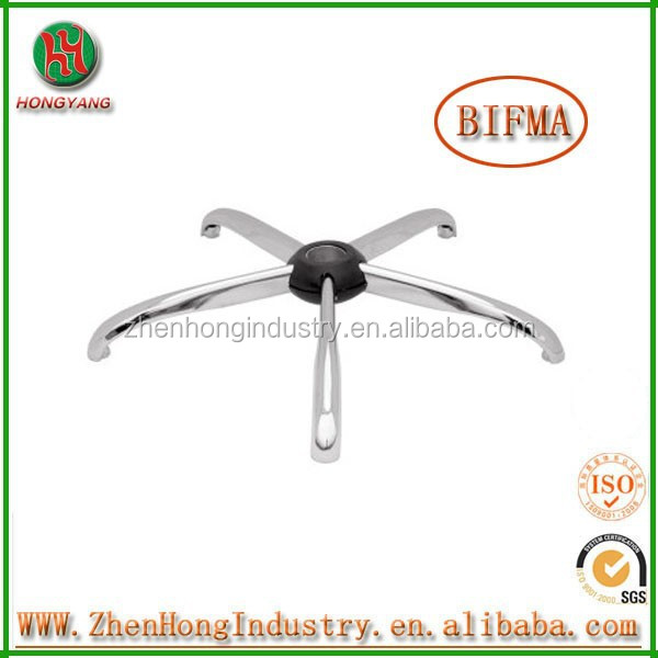 Environmentally Friendly Chrome Metal Hydraulic Barber Chair Base