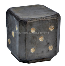 Dice Metal Stool