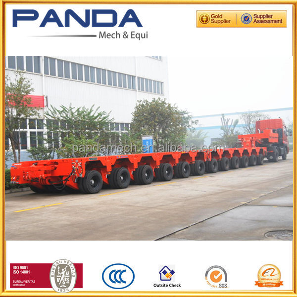Lowbed transporteur modulaire/300-500Ton Module hydraulique trailer for sale