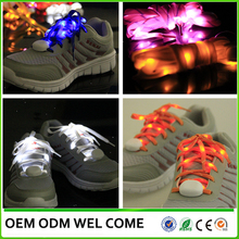 LED sport shoelace custom printed colorful shoelaces