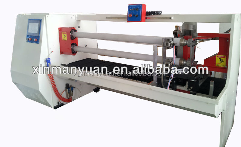 Double Shaft full automatic adhesive tape cutting machine