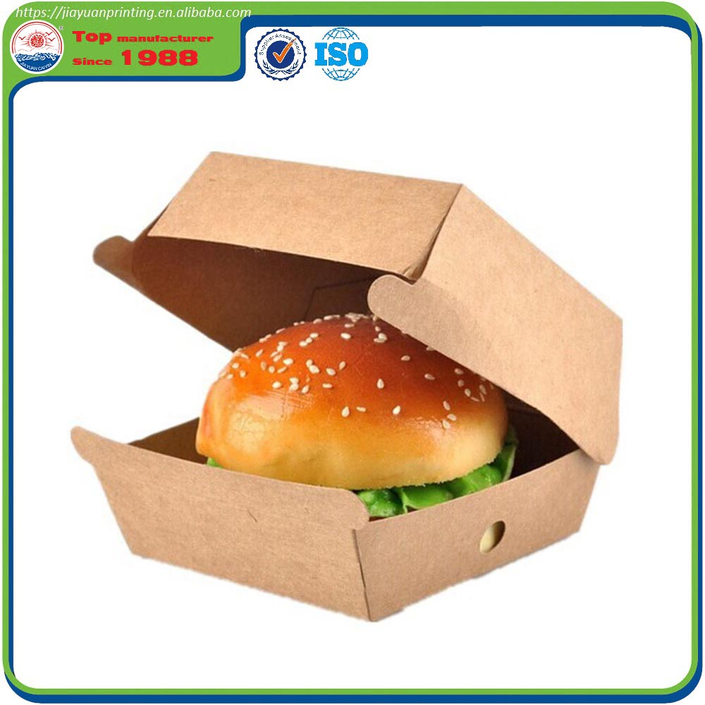 Customized 6 Color Printed Quality Food Paper Box Package