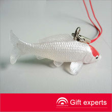 Popular polyresin Keyring Fish figurines