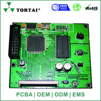 Electronic circuit board for tablet pcb assembly
