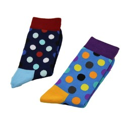 Haining GS novelty knitted dots design wholesale men socks cotton,socks men,happy socks