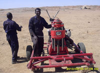 XUL-100 mini water well drilling rig