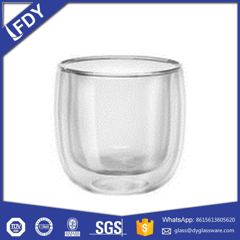 cold drink paper ice cream container / shake glass cup with good quality