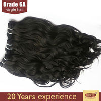 Can be dyed 100% virgin short hair brazilian weave