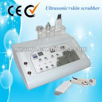 Super ultrasonic skin scrubber penetration removing facial wrinkles machine AU-8202