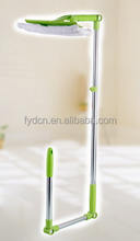 Upgraded Telescopic Outside Window Cleaner with Squeegee and Rotatable Sponge Wiper