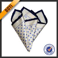 Colourful Dot 100 Cotton White Handkerchief