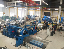 steel coil strips high quality slitting line machine