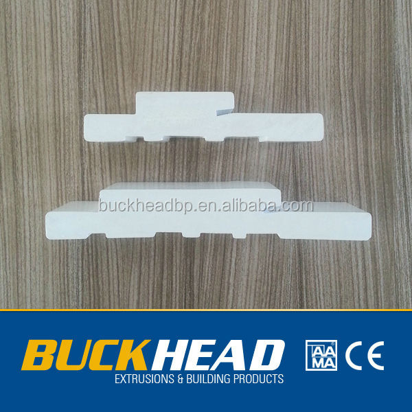 High Quality White PVC Door Jamb with Competitive Price