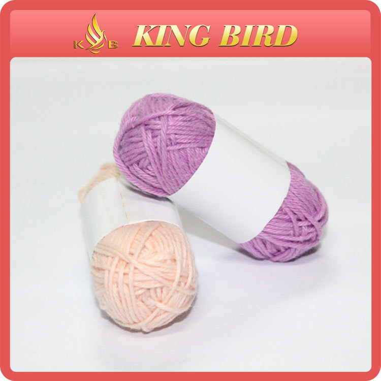 10 grams 13.5NM/4 ECO-friendly open end 100% cotton yarn