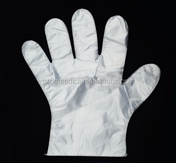Medical Disposable PE Plastic Hand Gloves
