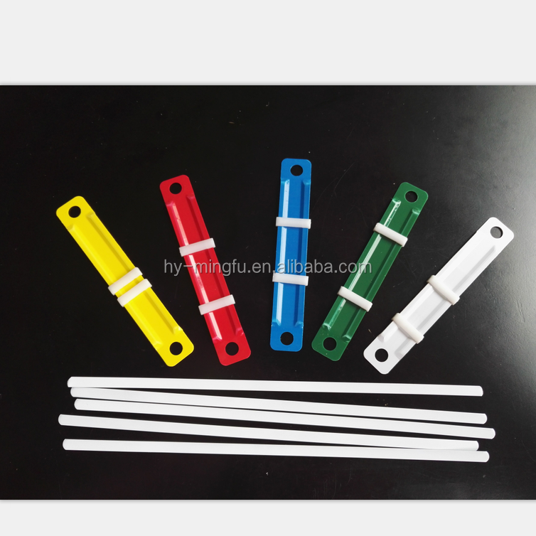hot sale 80mm plastic paper fastener for school and office supplies factory