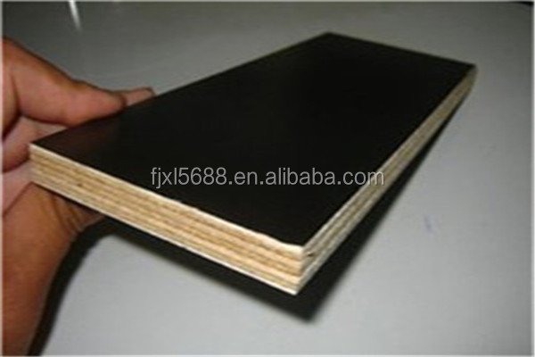 Two times hot press concrete form use 18mm shuttering plywood for sale