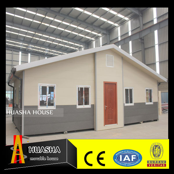 2017 Latest villa type prefab modular container house
