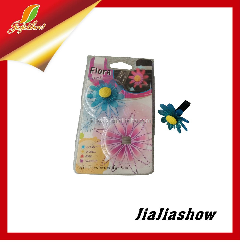 Long-Lasting Fragrance beautiful flower Car vent air fresheners