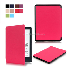 Shenzhen Factory PU Leather Case for New Kindle 2016,Many Colors are Available